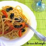 Pasta alle olive…ed è già primavera!