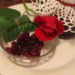 Profumo e sapore di rose