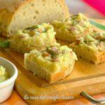 Crostini verza, patate e pancetta