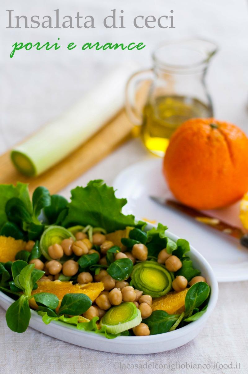 insalata di ceci arance e porri2