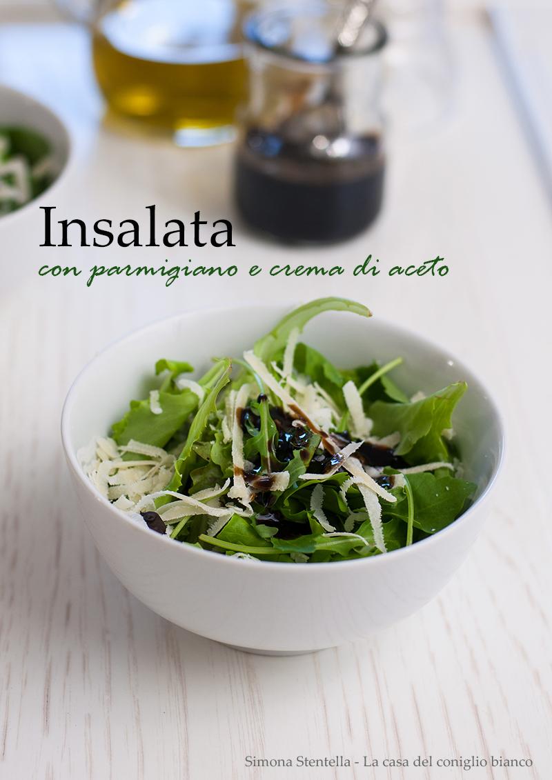 Misticanza al parmigiano e crema di aceto balsamico-BLOG