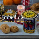 Ciambelline all'anice e arancia