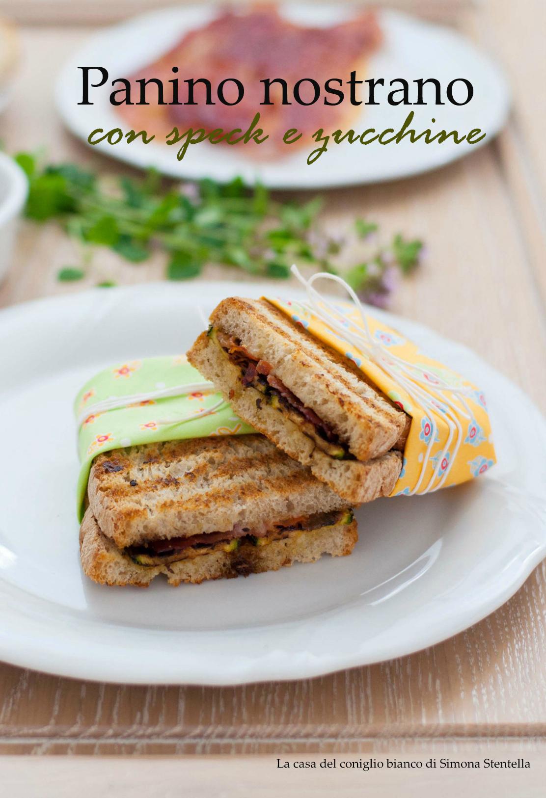 panino nostrano speck e zucchine