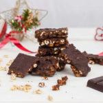 Quadrotti di farro e cioccolato
