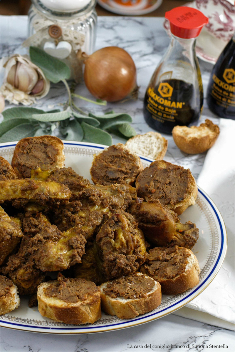 faraona umbra con salsa di soia