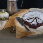 Torta con stevia e carrubba senza glutine